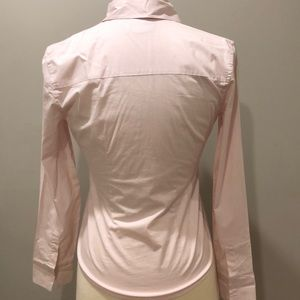 Banana Republic Tops - Banana Republic Stretch Light Pink Button-Down